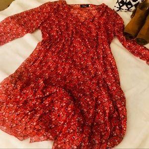 Floral, Boho Dress. Perfect for Festivals (XXL)